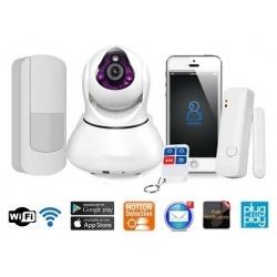 Rörelsedetektor IP Kamera WiFi (L)