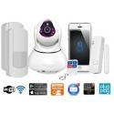 Rörelsedetektor IP Kamera WiFi (XL)