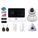 HemLarm Smart Larmpaket (S) med IP Kamera