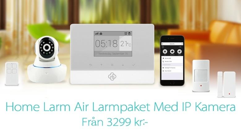 HemLarm Air med IP Kamera