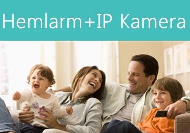 Hemlarm + IP kamera