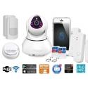 Rörelsedetektor IP Kamera WiFi (XXL)