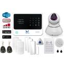 HemLarm Smart Larmpaket (L) med IP Kamera