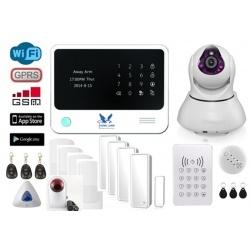 HemLarm Smart Larmpaket (XL) med IP Kamera