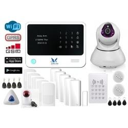 HemLarm Smart Larmpaket (XXL) med IP Kamera