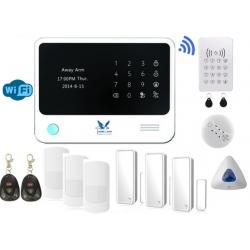 Villalarm Hemlarm Inbrottslarm GSM Larm Trådlöst HemLarm Smart Larmpaket L www.homelarm.se